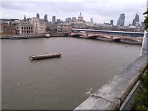 TQ3180 : An easterly view from The OXO Tower by Richard Humphrey