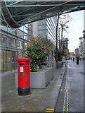 SJ8398 : Corporation Street, Victorian Post Box by David Dixon