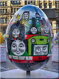SJ8398 : Thomas and Friends by HIT Entertainment Limited - Big Egg Hunt, Exchange Square by David Dixon