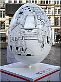 SJ8398 : Eggs in the City by Lindsey Spinks - Big Egg Hunt, Exchange Square by David Dixon