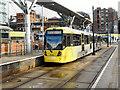 SJ8498 : Metrolink, Shudehill Interchange by David Dixon