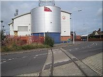 TM2532 : Harwich Town 1st railway station (site) by Nigel Thompson