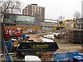 TQ3183 : Demolition of Elizabeth Garrett Anderson School by Stephen Craven