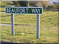 TG5201 : Beaufort Way sign by Adrian Cable