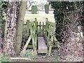 SK3031 : Turnpike Way footbridge over Doles Brook by Ian Calderwood