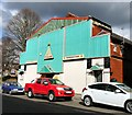 SJ9398 : Pyramid Snooker Club by Gerald England