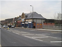 TQ4375 : Eltham Park railway station (site), Greater London by Nigel Thompson