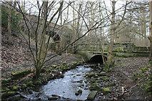 SE1940 : Springs Road Bridges, Guiseley by Richard Kay
