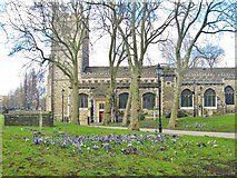 TQ3581 : St. Dunstan and All Saints church. Stepney, East London by Derek Voller