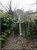 SE0721 : Stile on Elland Footpath 51 by Humphrey Bolton