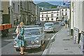 SO2118 : Crickhowell, High Street in 1966 by Ben Brooksbank
