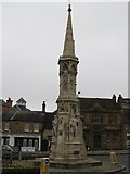 SP4540 : Banbury Cross by Richard Rogerson