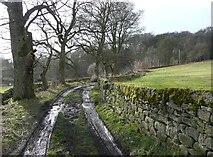 SE0721 : Syke House Lane, Greetland by Humphrey Bolton