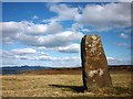 NM3753 : Standing stone at Cillchriosd by Karl and Ali