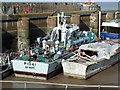 ST0743 : Watchet Marina - fast patrol boat Gay Archer by Chris Allen