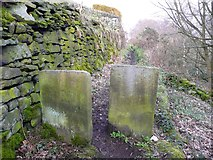 SE0721 : Stile on the north-east branch of Elland Footpath 51 by Humphrey Bolton