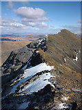 NM5233 : The A' Chioch ridge of Ben More by Karl and Ali
