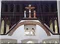 TL1710 : St Leonard, Sandridge - Rood by John Salmon