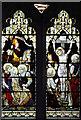 TL1710 : St Leonard, Sandridge - Stained glass window by John Salmon