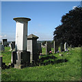 SP0891 : Memorial column to the Holyoake family, Witton Cemetery by Robin Stott