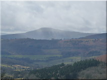 SO2718 : The Sugar Loaf / Mynydd Pen y Fal viewed from the Vale of Ewyas by Jeremy Bolwell