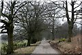 SK0151 : Driveway to Sharpcliffe Hall by Graham Hogg