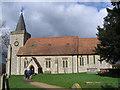 TQ3859 : St Leonard's church, Chelsham by Stephen Craven