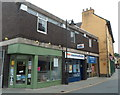 SO0428 : Monmouthshire Building Society office, Brecon by Jaggery