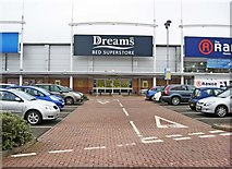 SO8277 : Dreams plc., Crossley Retail Park, Carpet Trades Way, Kidderminster by P L Chadwick