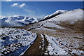 NY2123 : Path to Grisedale Pike by Bill Boaden