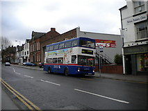 SP0198 : Bus on Bradford Street, Walsall by Richard Vince