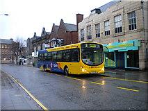 SK5319 : Bus on Baxter Gate, Loughborough by Richard Vince