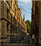 SP5106 : Brasenose Lane Oxford by Gillie Rhodes
