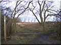 TM4468 : Footpath to Raceground House & Westleton Road by Adrian Cable