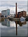 SJ3489 : Canning Half Tide Dock by William Starkey