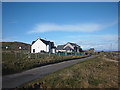 NM2823 : Houses at Sligneach, Iona by Karl and Ali