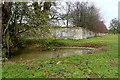 SP4515 : Pond outside Blenheim Park estate by Graham Horn