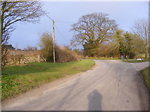 TM4069 : Westleton Road & the footpath to the A12 Main Road by Adrian Cable
