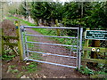 SU0097 : Entrance gate to the Thames Path south of Ewen by Jaggery