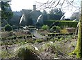 SW6335 : Herb garden, Clowance Estate by Humphrey Bolton