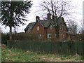 TL5745 : New Farm cottages, Bartlow Road by David Beresford