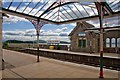 SD4178 : What a place to get off a train ! - Grange-over-Sands Railway Station by Nick Thorne - Bodian Photography