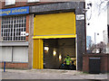 TQ3082 : Barclays bike store, Belgrove Street by Stephen Craven