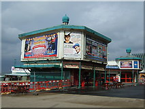 SD3036 : North Pier entrance, Blackpool by JThomas
