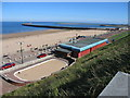 NZ4059 : Roker Beach Looking Towards The Piers by Rude Health