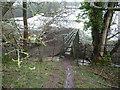 SO4514 : Footbridge in the field corner by Jeremy Bolwell