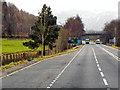 NY2624 : A66 near Keswick by David Dixon
