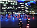 SJ8097 : The Speed of Light, MediaCityUK Piazza by David Dixon
