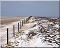 SE9432 : Sweatty Hill in the Snow by Andy Beecroft