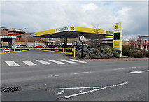 ST1167 : Morrisons fuel station, Barry by Jaggery
